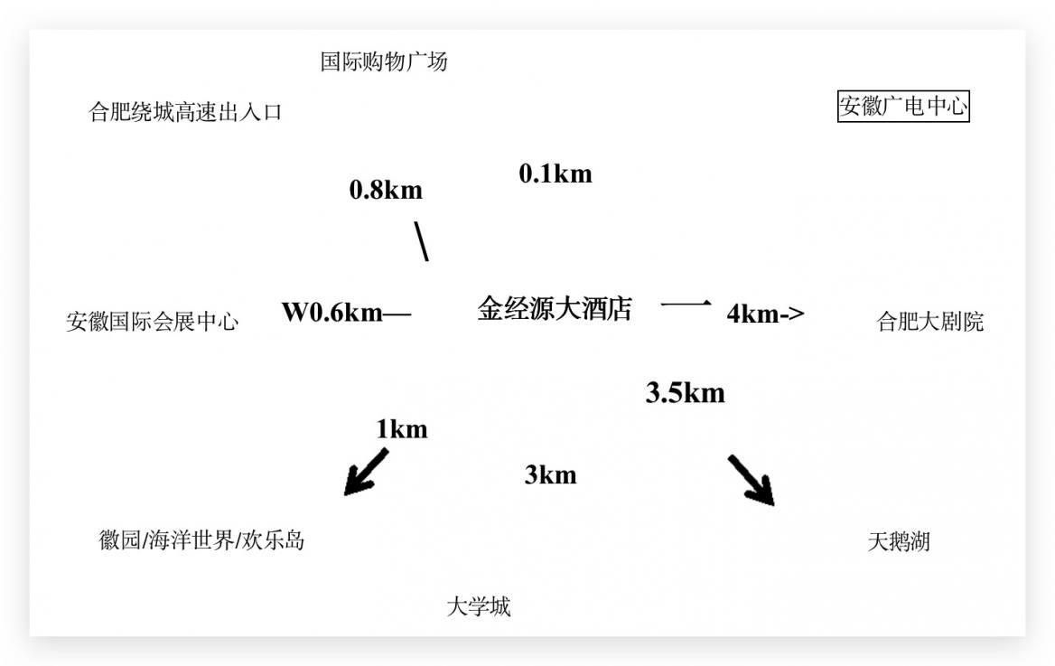合肥明珠广场金经源大酒店