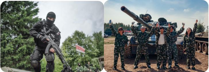 合肥到俄罗斯军事射击团
